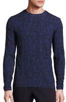 Giorgio Armani Multicolored Diamond-Print Sweater