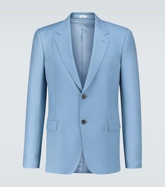Alexander McQueen Wool and mohair-blend blazer