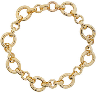 Laura Lombardi Gold Calle Necklace