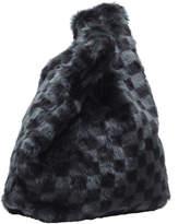 KENDALL + KYLIE Michelle Faux-Fur Shopper Tote Bag