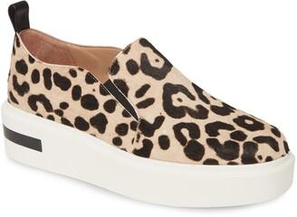 Linea Paolo Kai Genuine Calf Hair Platform Sneaker