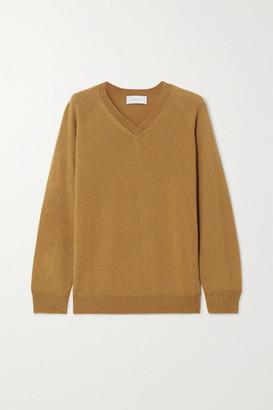 ALEXANDRA GOLOVANOFF Catherine Cashmere Sweater - Camel