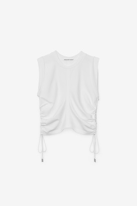 Alexander Wang Wash + Go Side Tie Crop Top