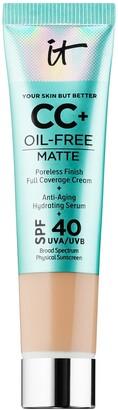 It Cosmetics CC+ Cream Oil-Free Matte with SPF 40 Mini