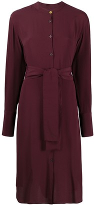 Paul Smith belted midi shirt dress