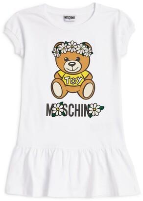 Moschino Kids Teddy Bear Daisy Dress (4-14 Years)