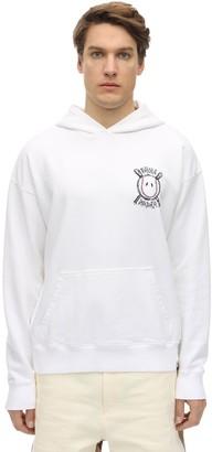 Diadora X Paura Paura X Diadora Logo Cotton Hoodie
