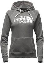 The North Face Women's Half Dome Hoodie (, TNFLightGreyHeather/SweetViolet)