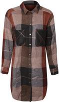 Dex Plaid Tunic Shirt
