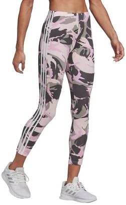 adidas Cropped Camouflage Print Leggings