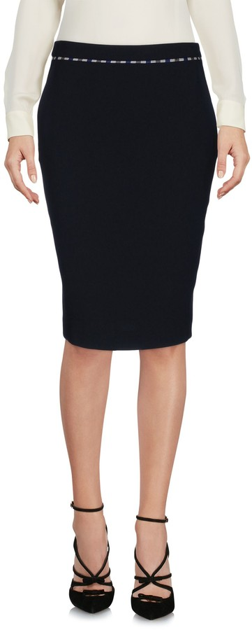 Aquascutum London Knee length skirts - Item 35336252MM
