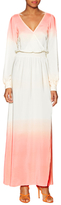 Jay Godfrey Larkin Silk Ombre Maxi Dress