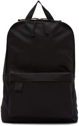 N.Hoolywood Black Porter Japan Edition Canvas Backpack