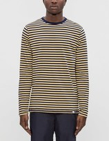 Norse Projects Svali Military Stripe L/S T-Shirt