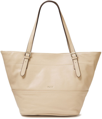 DKNY Pebbled-leather Tote