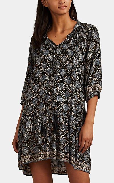 19257e3209 Women's Stevie Star-Print Silk Dress - Black