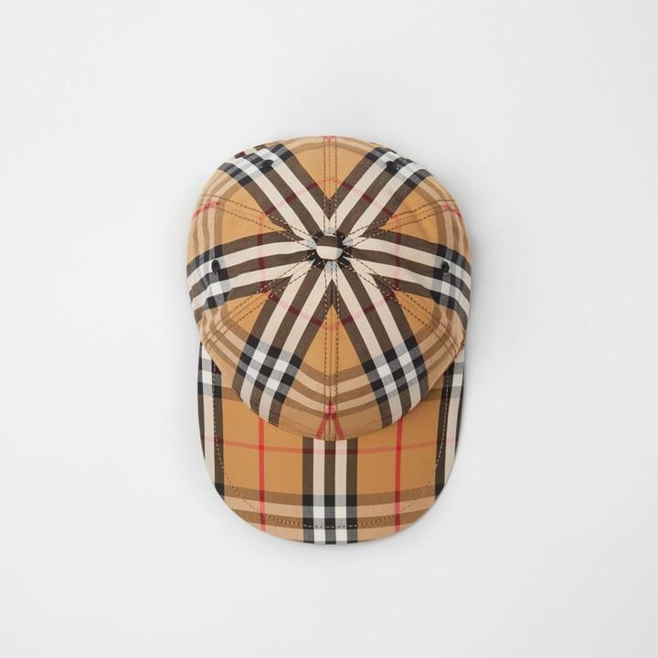 19253ce01b5 Burberry Check Cap - ShopStyle
