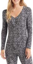 Cuddl Duds Softwear Long-Sleeve V-Neck Shirt