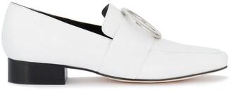 Dorateymur White Leather Harput loafers
