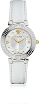 Versace Daphnis White Women's Watch w/Greek Engraving