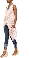 BB Dakota Linen Striped Vest