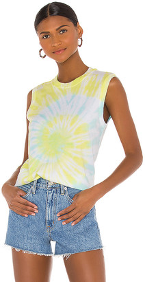 ATM Anthony Thomas Melillo Classic Jersey Sleeveless Tie Dye Muscle Tee