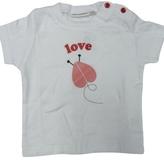 Twos Company - Kid's White 2 Cute Love Bug Tee