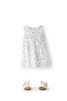 Country Road Scatter Leaf Dress