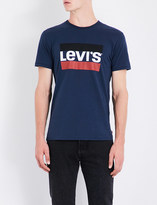 Levi's Sports-logo cotton-jersey T-shirt