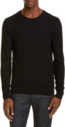 Emporio Armani Herringbone Crewneck Sweater