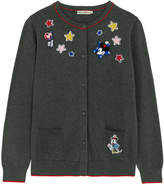 Cath Kidston Mickey and Minnie Patches Cardigan