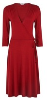 Dorothy Perkins Womens Tall Red Wrap Dress, Red