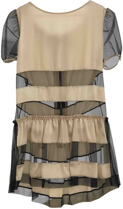 Luella Beige Silk Dress for Women