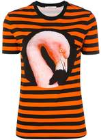 Givenchy striped Flamingo T-shirt