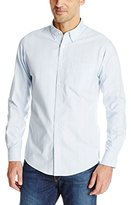 Dockers Oxford Stripe Long Sleeve Button Down Shirt