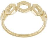 Astley Clarke plain honeycomb ring