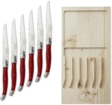 Laguiole Jean Dubost Steak Knife Set, Set of 6
