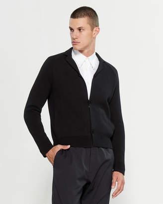 Emporio Armani Black Long Sleeve Cardigan