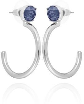 T Tahari Stud Hoop Earring