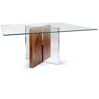 Brayden Studio Machias Solid Wood Dining Table