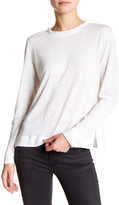 DKNY Linen Long Sleeve Tee