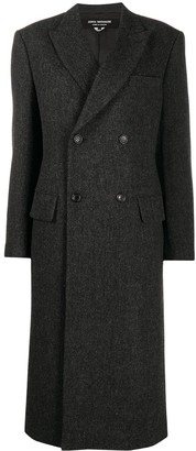 Junya Watanabe Fitted Double-Breasted Coat