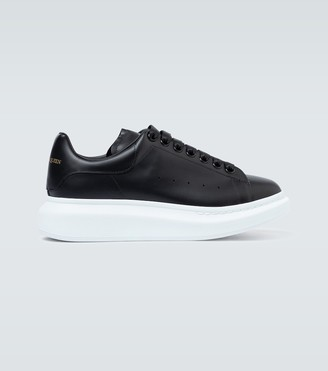 Alexander McQueen Oversized leather sneakers