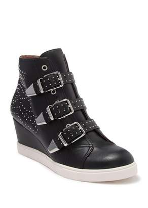 Linea Paolo Fawn Wedge Sneaker