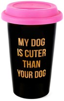 Juicy Couture My Dog Is Cuter Ceramic Travel Mug