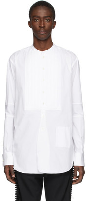 TAKAHIROMIYASHITA TheSoloist. White Band Collar Shirt