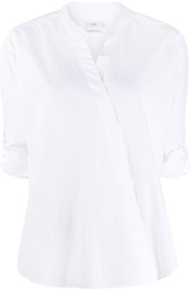 Closed Crossover Front Shirt