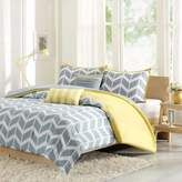 Bed Bath & Beyond Nadia Reversible Twin/Twin XL Duvet Cover Set in Yellow