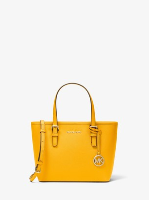 MICHAEL Michael Kors Jet Set Travel Extra-Small Saffiano Leather Top-Zip Tote Bag