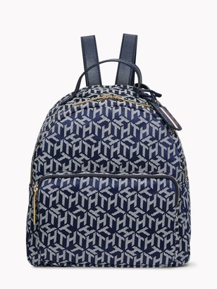 Tommy Hilfiger Monogram Dome Backpack
